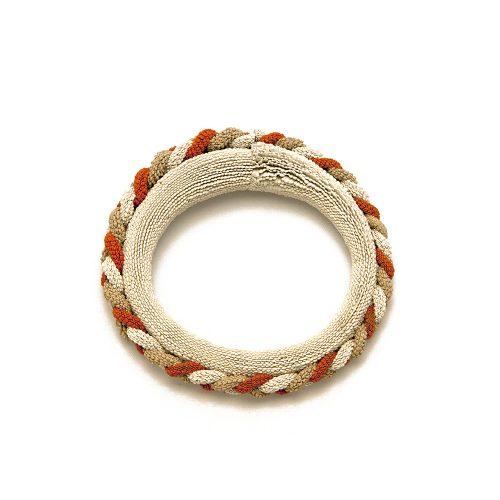 Bracelet Tresse Sand Safran